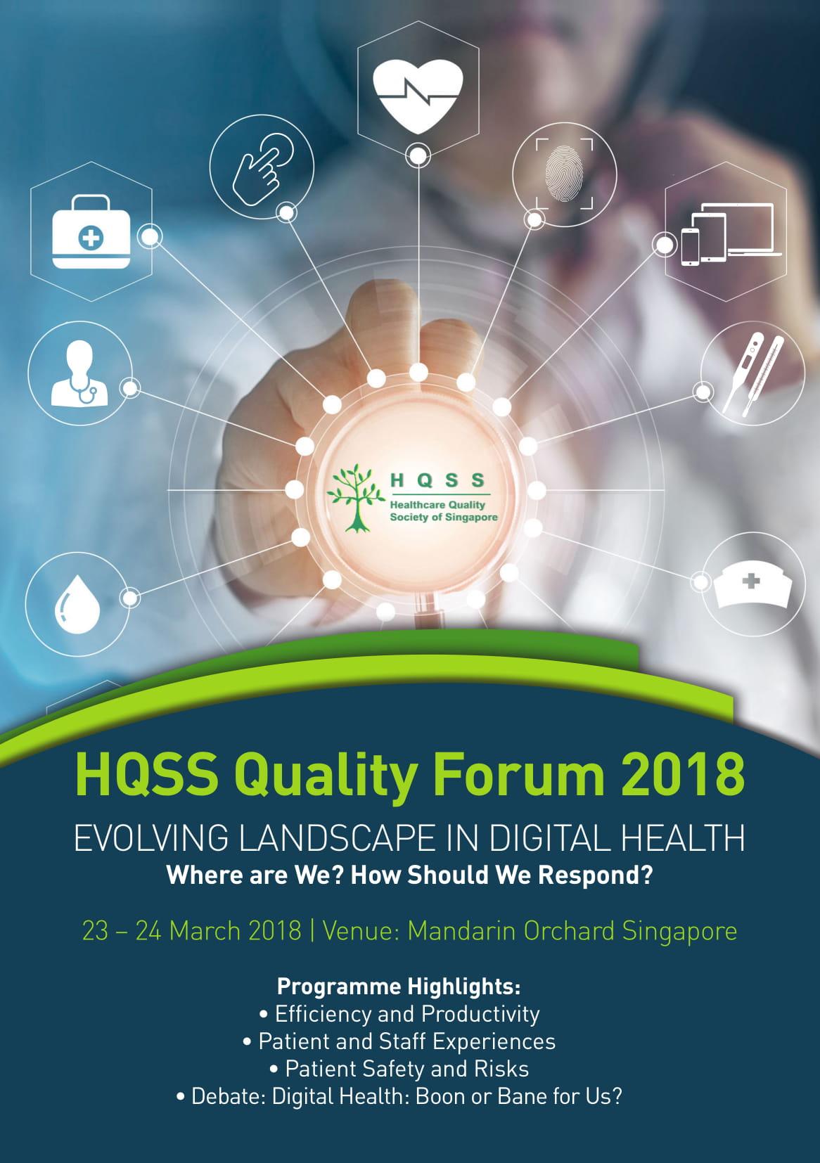HQSS Forum Brochure