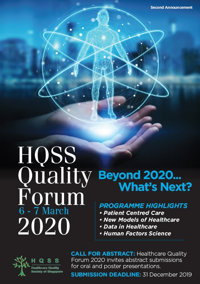 Healthcare Quality Forum 2020 | Healthcare Quality Society of Singapore